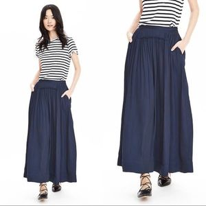 Banana Republic Navy Maxi Skirt